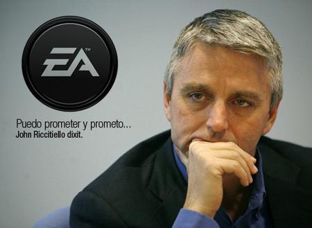 """""""No más juegos """"malos"""" por parte de EA"""". Promesa patrocinada por John Riccietiello"""