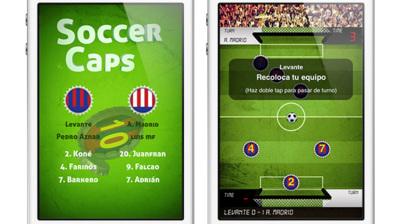 Soccer Caps, el juego de fútbol táctil que recupera un clásico