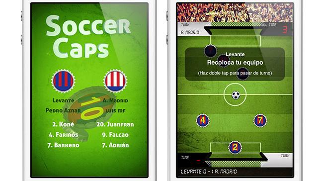 Soccer Caps portada partido