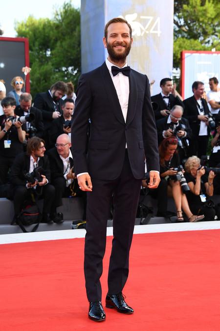 Alessandro Borghi Red Carpet Venice Film Festival 2