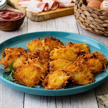 Cómo hacer hash browns, la guarnición de patata con la que querrás acompañar todos tus platos