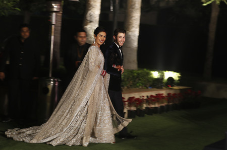 Priyanka Chopra Y Nick Jonas Recepcion En Nueva Dheli 2