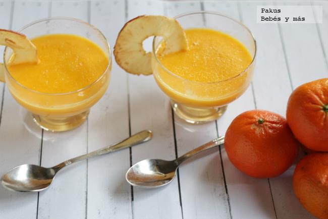 Crema de mandarinas receta f cil de postre para toda la - Postre con mandarinas ...