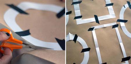 Hazlo tu mismo - marcos de papel - recortar