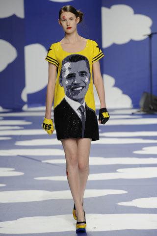 Campaña electoral en las pasarelas de moda