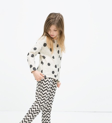 Tendencia Black & White para los pequeños más fashion