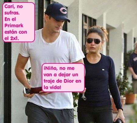 Mila Kunis despedida de Dior por 'destartalada', por no decir otra cosa...