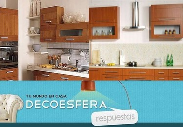 ¿Preferís los muebles de la cocina hasta el techo o dejando hueco? La pregunta de la semana
