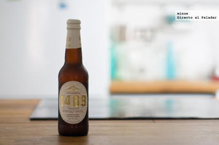 Tullibardine 1488 Whisky Beer. Cata de Cerveza