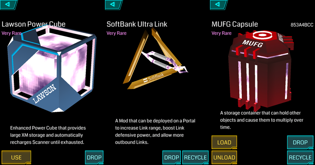 Ingress Branded Items