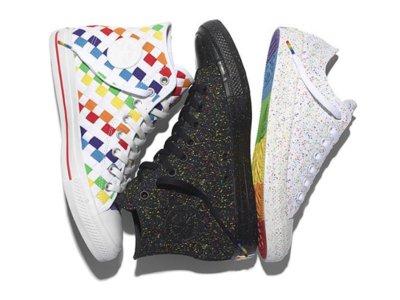 Converse se une a la celebración del Día Gay 2016 con una edición especial de zapatillas