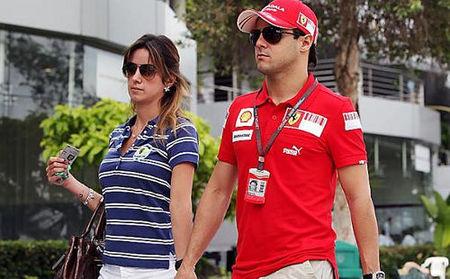 Felipe Massa rumbo a su casa en Brasil