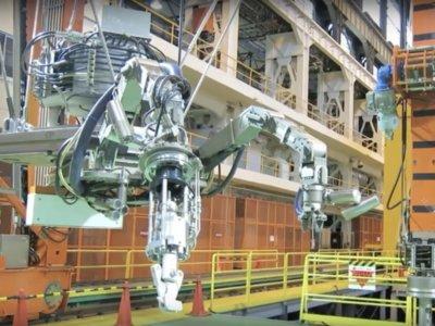 Japón desmantelará la planta de Fukushima y ya tienen al robot que hará el trabajo sucio