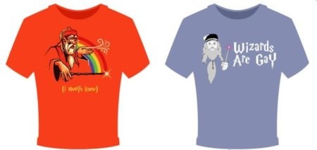 Dumbledore es gay: la camiseta