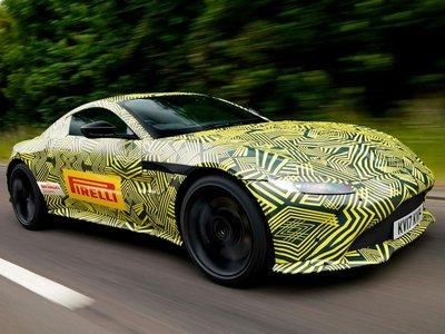 Aston Martin nos muestra las primeras imágenes del nuevo Vantage, aunque bajo mucho camuflaje