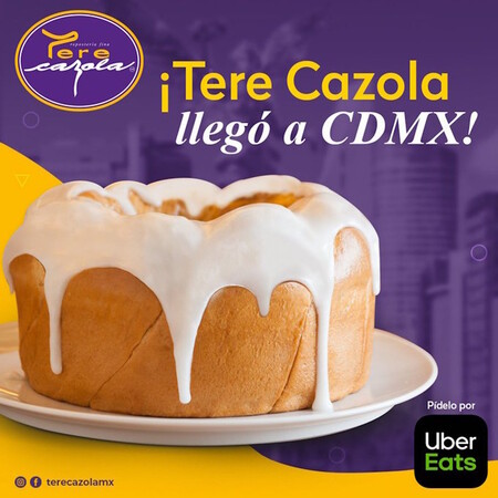 Tere Cazola la famosa marca yucateca de panadería ha llegado a la CDMX y la puedes pedir por esta plataforma de delivery