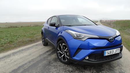 Prueba Toyota C Hr Exteriores