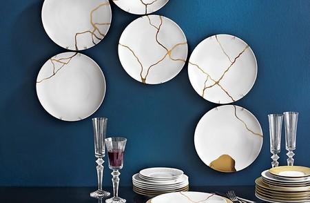 Queremos romper la vajilla de casa para pegarla con Kintsugi, la técnica japonesa decorativa más bonita y profunda