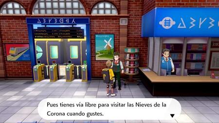 Pokémon Espada y Escudo: cómo viajar a Las Nieves de la Corona