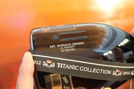 Barack Obama inaugura re-elección con una edición limitada de champagne Henri Abelé