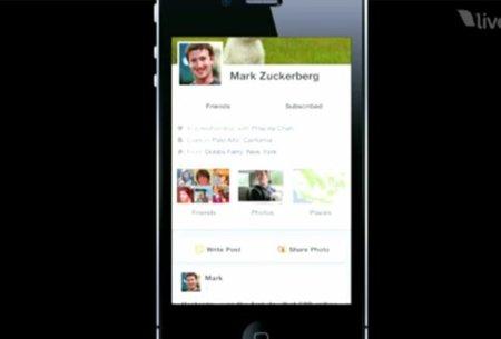 El nuevo Timeline de Facebook también llegará al iPhone