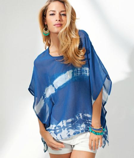 blusa h&m tie dye