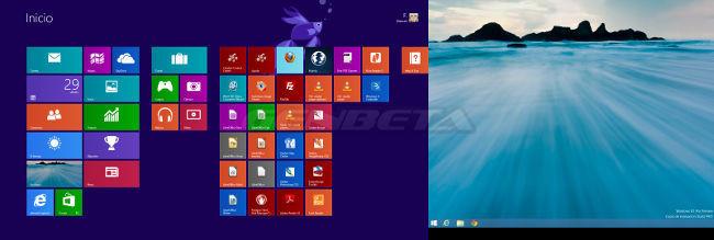 Windows 8.1, configuración doble monitor