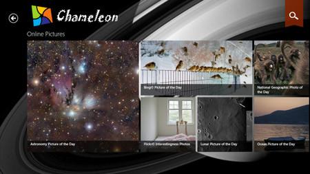 Chameleon: imágenes diarias para tu pantalla de bloqueo