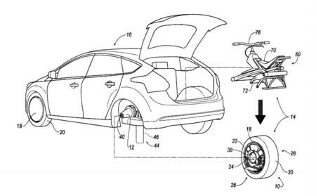 No es un batmóvil: esta patente de Ford podría esconder un monociclo eléctrico en su maletero