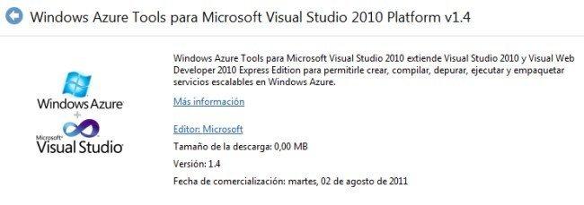 Windows Azure Tools for Visual Studio 2010 release August 2011