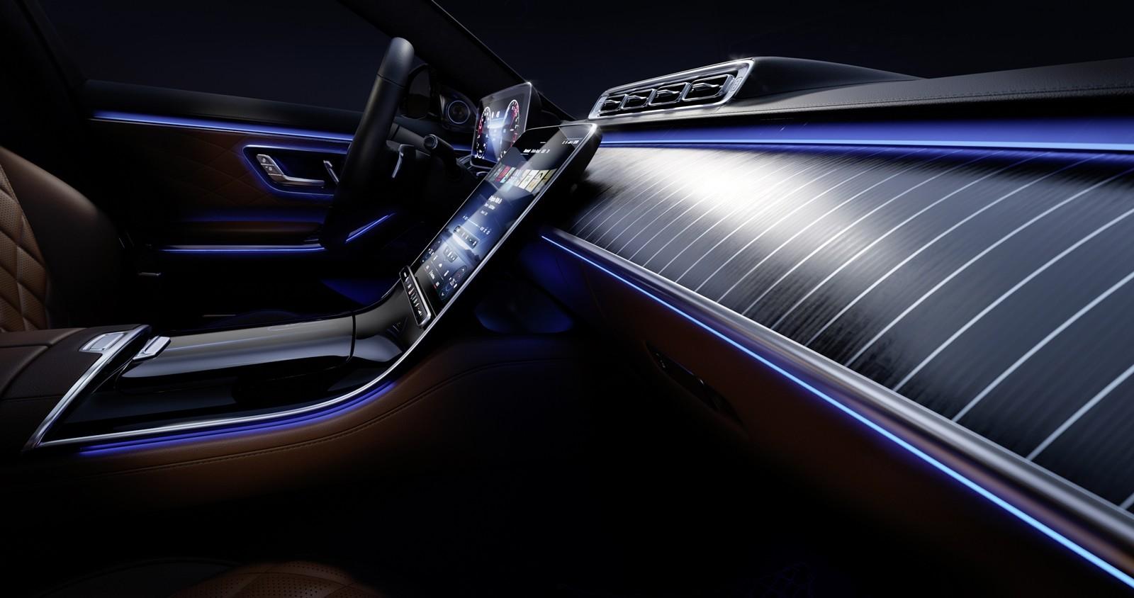 Foto de Mercedes-Benz Clase S 2021 teaser interior (3/12)