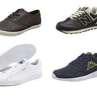 Chollos en tallas sueltas de zapatillas Puma, New Balance o Kappa por menos de 30 euros en Amazon