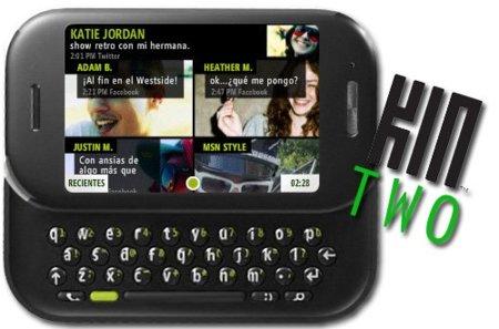 Kin Two, el teléfono social avanzado de Microsoft