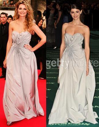 Vestido de Dior: ¿Mischa Barton o Manuela Velasco en los Goya?