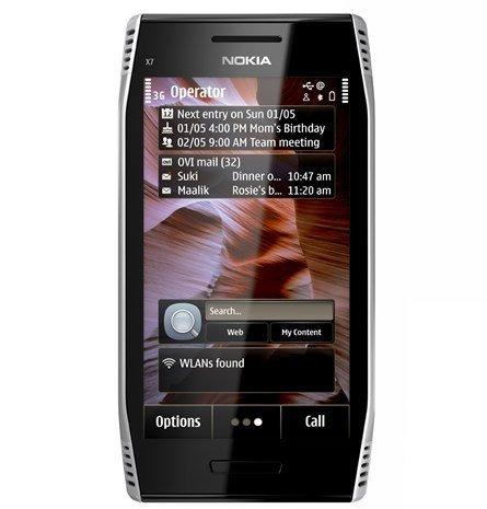 Nokia X7 con Symbian Anna
