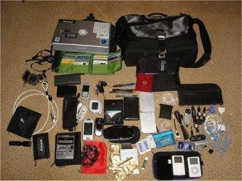 ¿Qué gadgets llevas en tu bolsa?