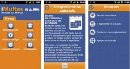 iMultas, recurre multas de tráfico desde Iphone y Android
