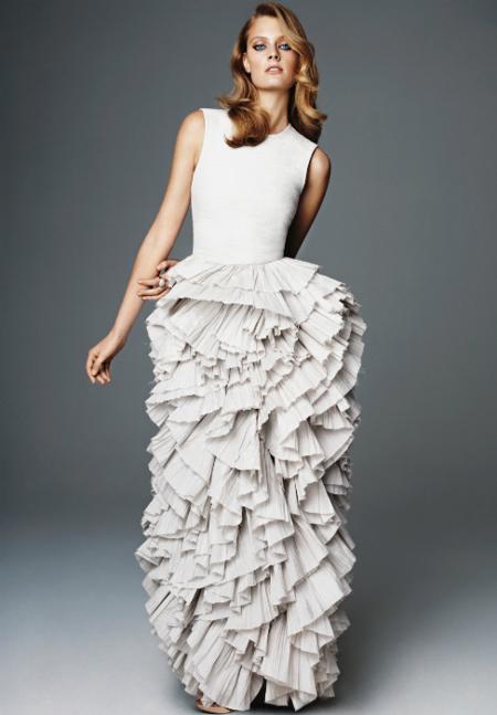 vestido H&M largo primavera 2012