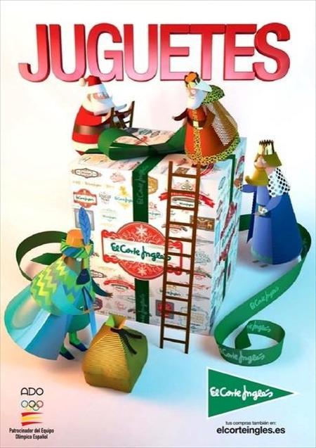 El catálogo de juguetes de El Corte Inglés de las Navidades 2014-2015