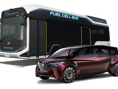 El hidrógeno es el combustible del futuro para Toyota, y lo demostrará en Tokio con dos prototipos muy realistas