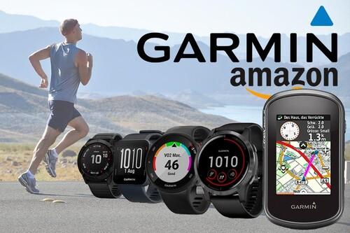 11 opciones para ahorrar regalando un GPS, un ciclocomputador o un reloj o pulsera deportivos de Garmin estas navidades