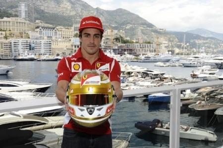 Cascos especiales para el Gran Premio de Mónaco