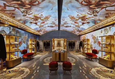 La Nueva Boutique De Dolce Gabbana En Piazza Di Spagna Es Un Museo Digital Al Renacimiento Italiano 2