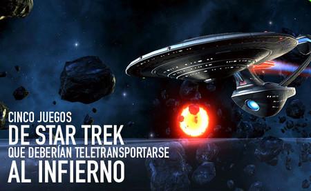 Cinco juegos de 'Star Trek' que deberían teletransportarse al infierno