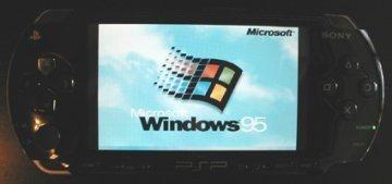 La PSP soporta Windows 95 y Linux
