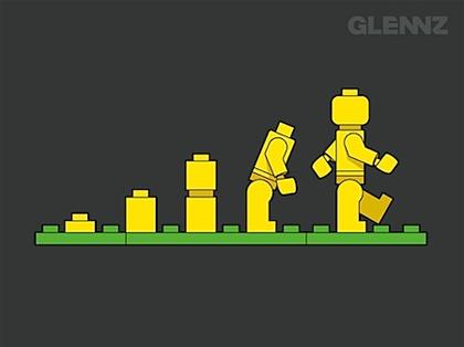 La evolución del hombre Lego