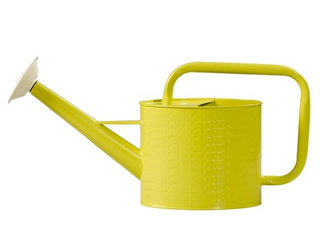 Orla Kiely Watering Can Linear Stem Yellow