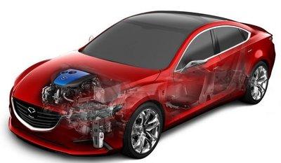i-ELOOP, el regenerador de energía de frenada con condensador de Mazda
