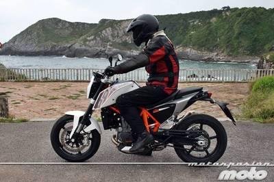 La legalidad de las motocicletas KTM frente al carné A2