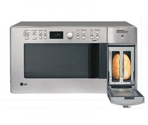 LTM9000, microondas y tostadora de LG